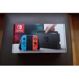 Nintendo Switch Neon Joy-con + Protector De Regalo En Stock