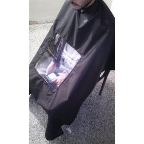 Capas De Peluquería Pantalla Transparente Celular Tablet