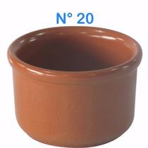 5 Cumbuca Tigela De Barro P/feijoada Molho Sopas N°20 425ml