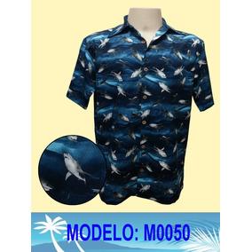 Camisa Florida Masculina Havaiana - Camisa Casual Masculinas Azul ... 3159ba228ec4f
