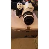 Cámara Fotográfica Pentax K50 Adaptador Wifi Regalo
