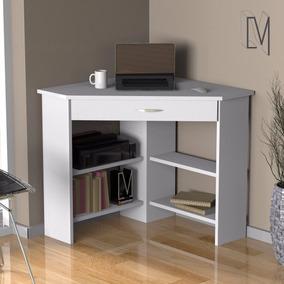 Escritorio esquinero muebles para oficinas en mercado for Mesa de esquinero