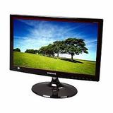 Monitor Samsung 19 Led Sd300 Vga Hd Ghi Computacion