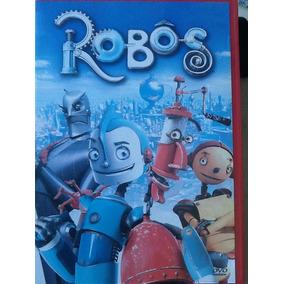 Dvd Robôs - Com Encarte - Aberto Disco Novinho - Original