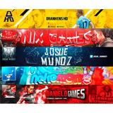 Banner Y Logo Para Canal De Youtube