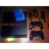 Ps4 Play Station+2controles+cargador Dual+5juegos