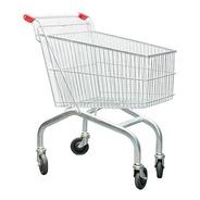 Carro Carrito Supermercado Tisera Compras 120 Litros Car03