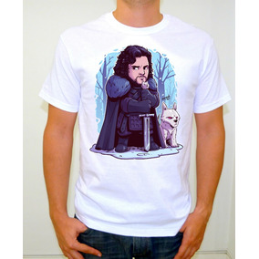 Jon Snow Playera Alta Calidad Toon Chibi Art Game Of Thrones