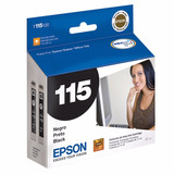 Cartucho Epson 115 Negro Original Tinta 22 Ml T115126