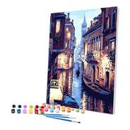 Pintura Numerada Gran Canal De  Veneza