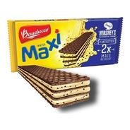 Biscoito Wafer Maxi Cookies Creme Bauducco 117g