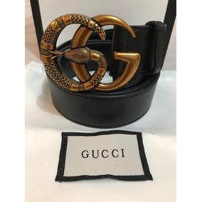 Cinto Gucci Double G Serpente Couro Legítimo Autêntico