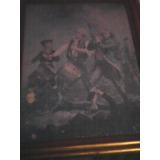 Cuadro Antiguo De La Batalla De Estadosunidos Cel 3521636012