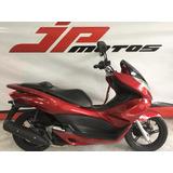 Honda Pcx 150 2014 Vermelha Baixo Km