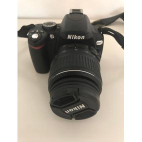 Cámara Nikon D60 , Tele-objetivo, Flash Metz Y Bolsa