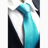 Gravata Slim Azul Tiffany - Casamentos, Padrinhos, Formandos