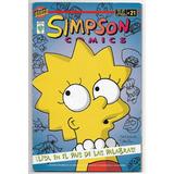 Simpson Comics - Lisa En El Pais De Las Palabras