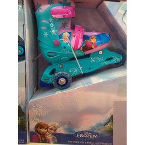 Patines En Linea Niña Princesas Frozen Nuevos Oferta