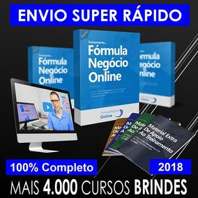 Fórmula Do Negócio Online 3.0 2018 - Alex Vargas + 4000 Brin