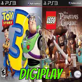 Toy Story 3 Y Lego Piratas Del Caribe Ps3 - Digitalgames
