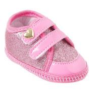 Sapatinho Bebe Tênis Menina Baby Shoes
