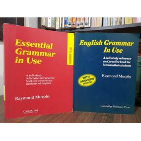 Essential grammar in use sebo amigo livros no mercado livre brasil essential grammar in use raymond murphy with answers fandeluxe Image collections