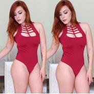 Body Feminino Bori Bore Blusinha C/ Bojo Blogueira Bc020