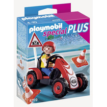 Playmobil Niño Con Auto De Carerras Special Plus 4759