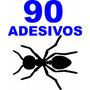 Kit 90 Adesivos Formigas Parede Geladeira Novo Frete Barato