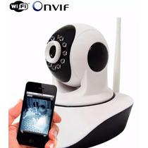 Camera Ip Ir Wireless Visão Noturno Controle Via Internet Hd