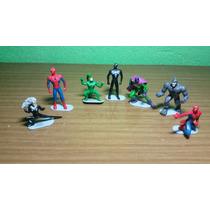 Miniaturas Homem Aranha, Marvel, Conjunto Com 7 Miniaturas