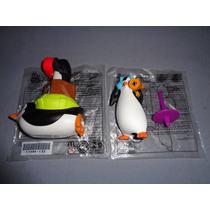 2 Figuras Pelicula Los Pingûinos De Madagascar Mcdonalds