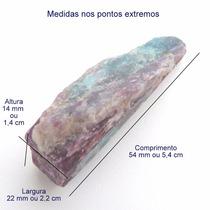 Turmalina Paraíba Violeta Bruta Pedra Preciosa Natural 3152