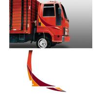 Faixa Adesivo Caminhão Ford Cargo 2001 Cor Vermelho 1 Ano