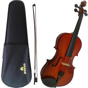 Viola De Arco Marinos Madeira Sólida Mva-260 4/4 Classic