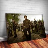 Placa Decorativa The Walking Dead 5 Séries Quadros Mdf 3mm