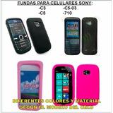 Funda Nokia C3 C5 C5-03 710 Silicona Tpu Protector