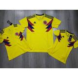 Camiseta Seleccion Colombia 2018 Hombre Mujer Niño Climalite