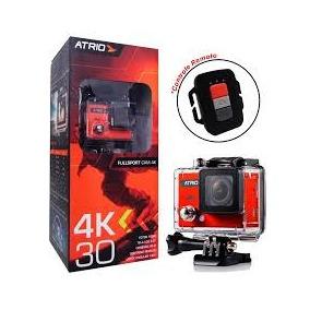 Câmera Ação Atrio Fullsport 4k, Usb, Wi-fi - Dc185 (outlet)