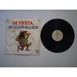 Lp Vinilo Los Duros De La Salsa De Fiesta Varios Printed Usa