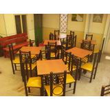 Restaurante Mesas Y Sillas