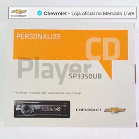 Cd Player Com Entrada Auxiliar E Usb Chevrolet 98550382