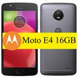 Celular Motorola Moto E4 - Biometria - Dual - 4g Lte Qcore
