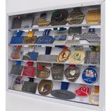 Quadro De Medalha Porta Medalha 60 Ou 30 Medalhas Mdf Branco
