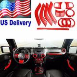 Jeep Wrangler Kit Accesorios Interior Modelos 2011 A 2015