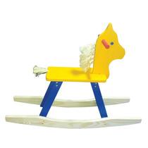 Brinquedos De Madeira - Cavalo De Balanço 80x22x60cm