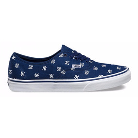 Tenis Vans Casual Authentic New York/yankees Vn-0a2z5iku3