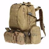 Mochila Tactica Militar Ejercito 65 Lts - Hiking Outdoor