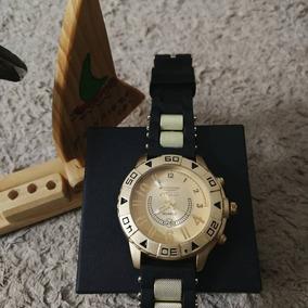 Relógio Masculino Atacado Dourado Pulseira De Couro