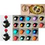 Kit Mame Arcade Usb+cables+2 Palancas +18 Botones Luminosos